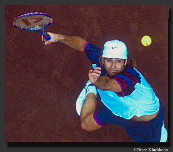 Photo of Andre Agassi